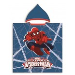 Cape de bain / Poncho Spiderman Marvel