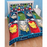 Parure de lit double The Avengers Tech Marvel