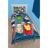 Parure de lit The Avengers Tech Marvel