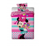 Parure de lit Minnie Flowers Disney