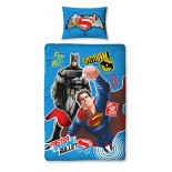 Parure de lit Superman vs Batman Faster