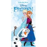 Serviette de bain Reine des Neiges Snow