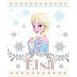 Plaid Couverture Reine des Neiges Pink Disney