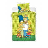 Parure de lit Simpson Family Green