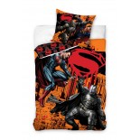Parure de lit Superman VS Batman Blood
