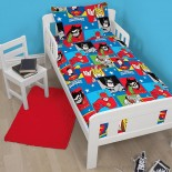 Parure de lit bébé Dc Comics Superfriends Marvel