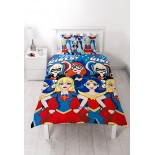 Parure de lit Super Girls Wonder Woman Comics