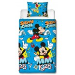 Parure de lit Mickey Mouse Bright Disney
