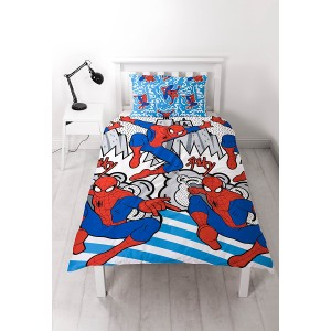 parure de lit spiderman popart 1001 nuits enchant es. Black Bedroom Furniture Sets. Home Design Ideas