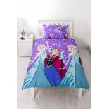 Parure de lit Reine des Neiges Frozen Disney Purple