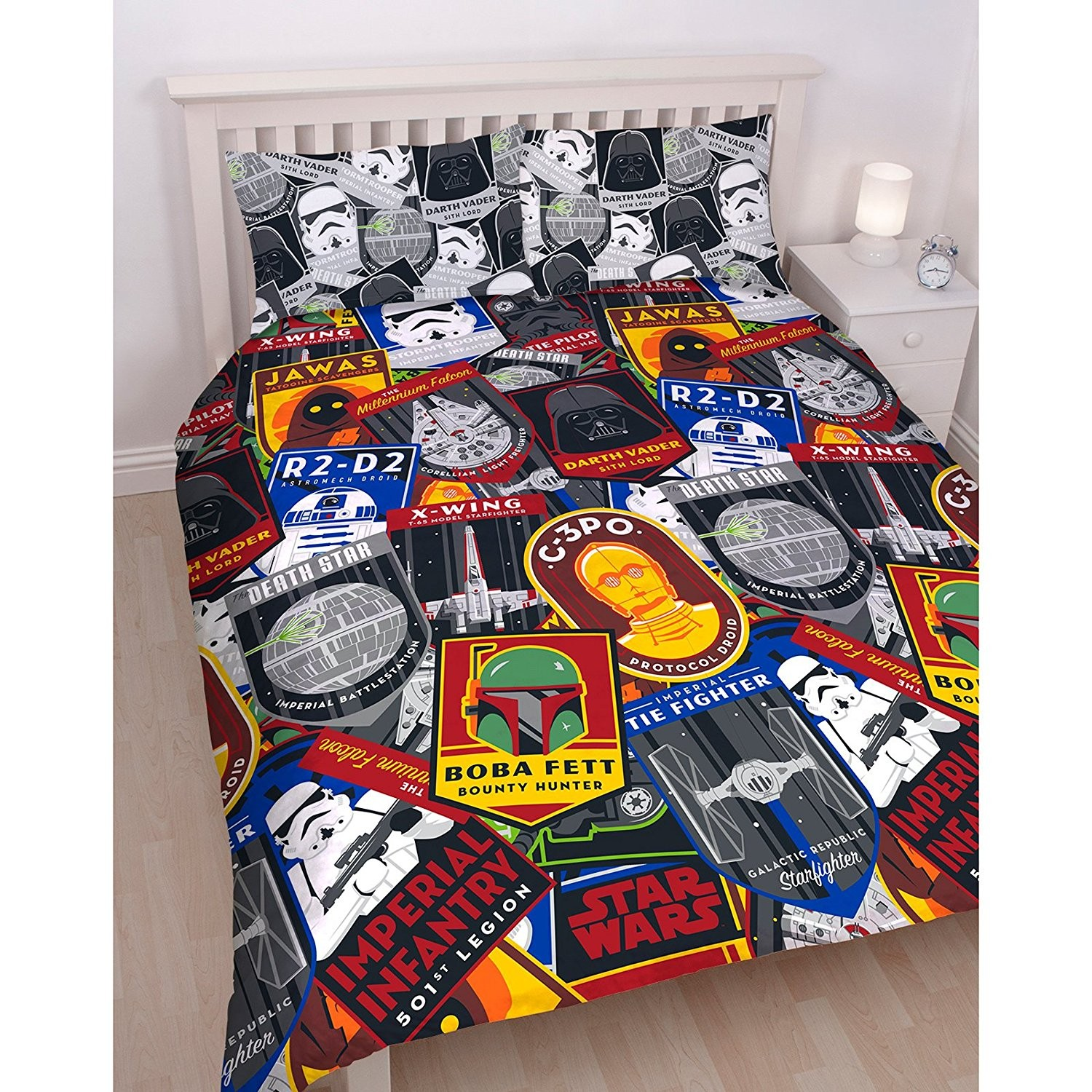 parure de lit lego star wars fashion designs. Black Bedroom Furniture Sets. Home Design Ideas
