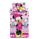 Parure de lit Minnie Mouse Red Disney
