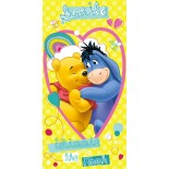 Serviette de bain Winnie L'Ourson Disney Friends