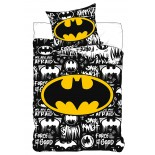 Parure de lit Logo Batman Marvel Comics