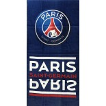 PSG - Paris St Germain Football - Serviette de Bain Coton