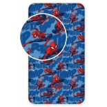 Spiderman Ultimate - Drap Housse Coton - Literie enfant 90 x 200 cm