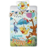 Winnie L'Ourson Fun - Parure de lit Bourriquet Tigrou