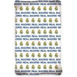 Real Madrid - Drap Housse Football Coton - Literie 90 x 200 cm