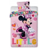 Minnie Disney Happy - Parure de Lit Enfant - Coton