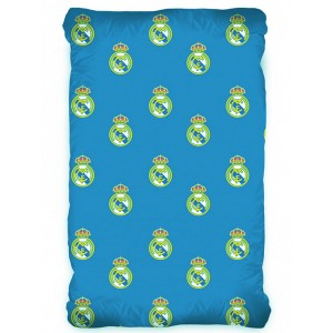 Football - Drap Housse Football Real Madrid - Literie 90 x 200 cm