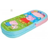 Peppa Pig - Sac de Couchage Gonflable Georges Pig - Lit d'Appoint