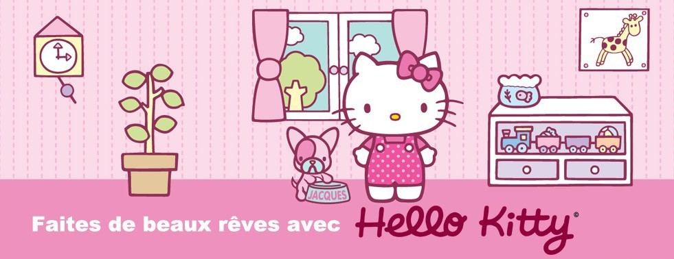 Housse de couette Hello Kitty